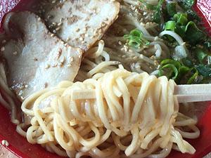 豊ちゃんラーメン 普通(ラーメン) 麺拡大