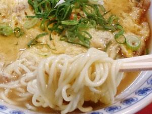 白鳳 天津メン 麺拡大
