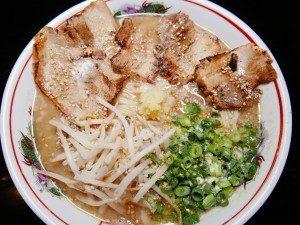 居酒屋食堂ふじ 佐伯ラーメン チャーシュー麺ダブル