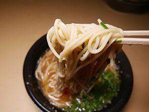 かちじラーメン ラーメン 麺拡大