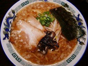 らーめん堂 楽天 醤油とんこつらーめん+プル(背脂)