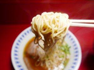 白鳳 ラーメン 麺拡大