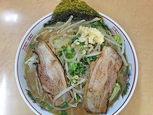三男坊 池田店 78ら〜麺 600円