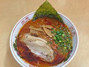 三男坊 池田店 激辛ら〜麺 700円