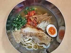 三男坊 池田店 冷し麺 (期間限定)750円