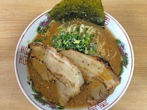 三男坊 長谷店 らー麺 648円